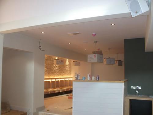 commercial plastering in burton