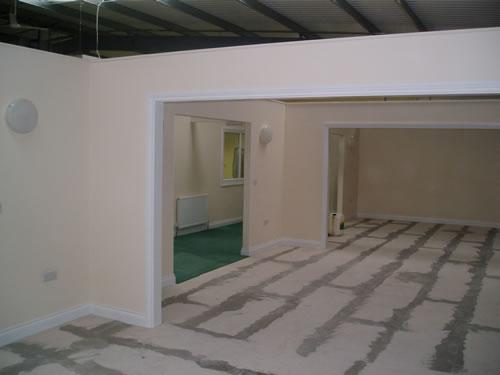 commercial plastering nottingham